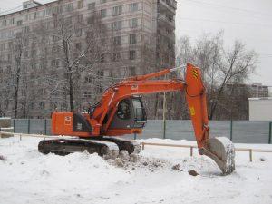 ГУСЕНИЧНЫЙ ЭКСКАВАТОР HITACHI ZX225USRLC