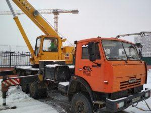 Автокран 25 тонн кс-55713-1 Галичанин