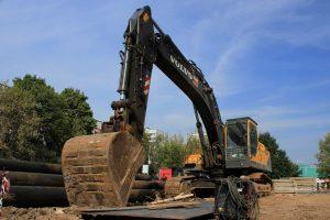 Разработка котлована и вывоз грунта на полигон