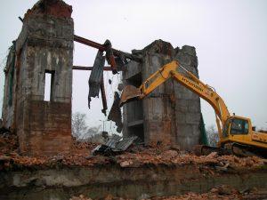 Снос и демонтаж строений