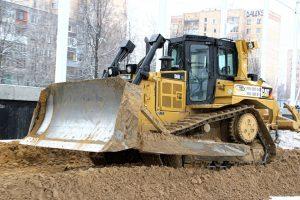 Аренда Бульдозера Caterpillar D6R в Москве у компании Техоптимум