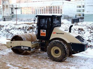 Аренда дорожного катка Ingersoll Rand SD-122DX-компания Техоптимум
