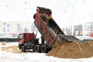 Продажа и доставка песка-компания Техоптимум