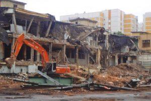 Демонтаж завода «Изолятор»