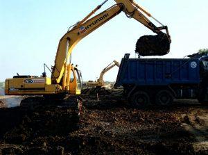 Вывоз грунта в Москве-компания Техоптимум