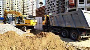 Вывоз грунта в Москве и МО -компания Техоптимум