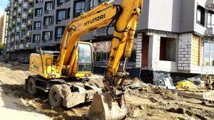Аренда и услуги экскаваторов для всех видов земельных и строительных работ по Москве и области-компания Техоптимум