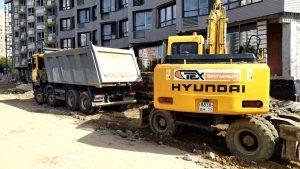 Вывоз грунта в Москве и области -предоставляем талоны с полигона. Компания Техоптимум