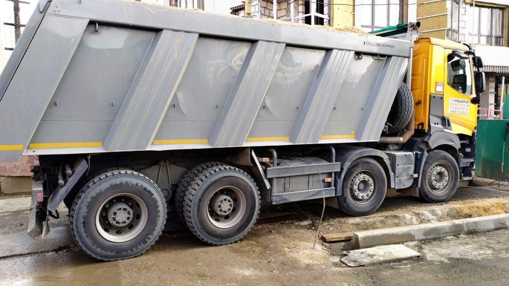Компания Техоптимум-земляные работы. Разработка котлована и вывоз грунта.
