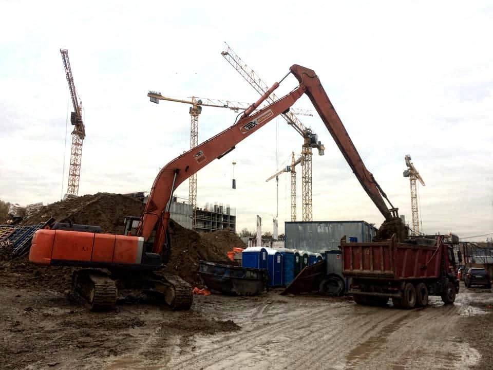 Погрузка и вывоз грунта в Москве