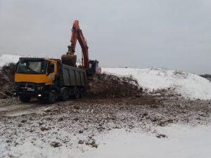 Вывоз грунта на полигон от 500р- компания Техоптимум