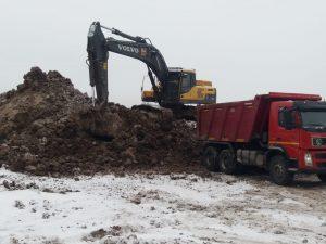Услуги вывоза грунта с погрузкой от компании Техоптимум
