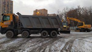 Земляные работы и вывоз грунта-компания Техоптимум