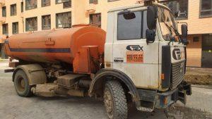 Поливомоечная дорожная машина МАЗ на шасси 551605 компании Техоптимум.