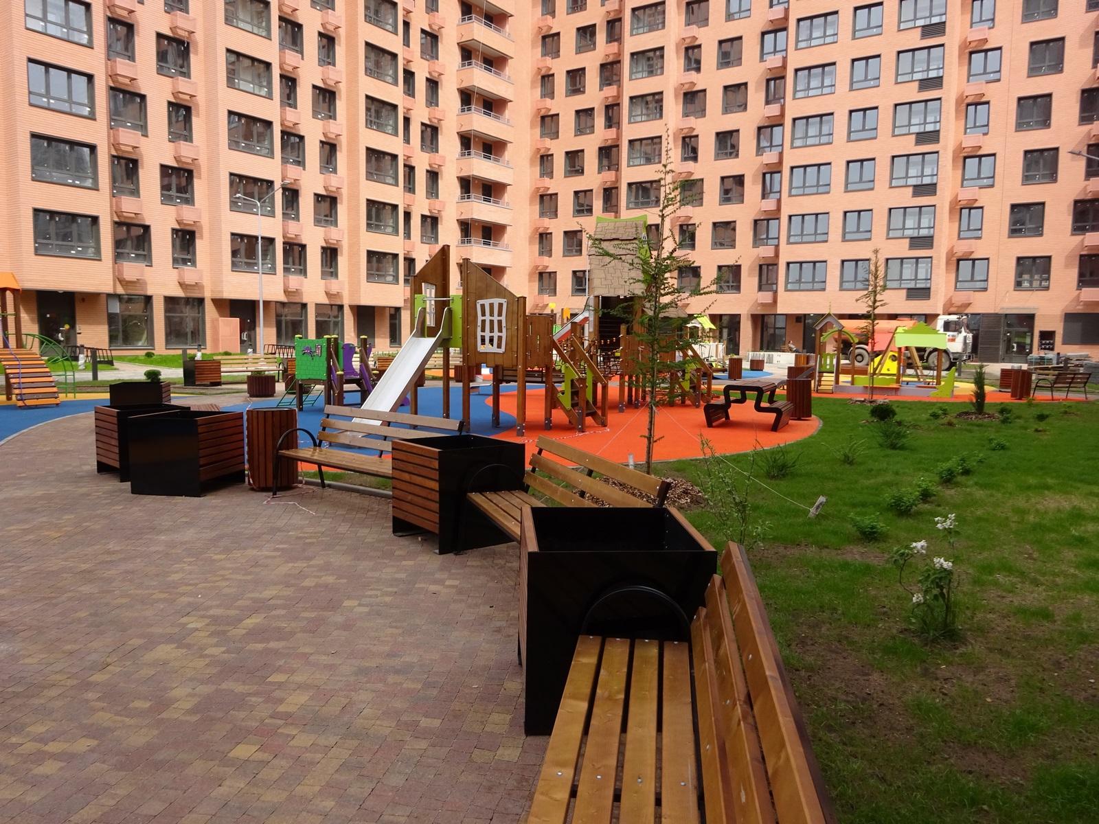 Малые архитектурные формы для благоустройства городской инфраструктуры -компания Техоптимум
