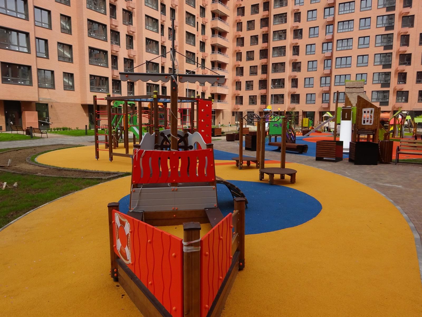 МАФ в Москве для благоустройства парков и скверов-компания Техоптимум